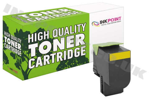 Compatible Lexmark C540 Yellow Toner Cartridge