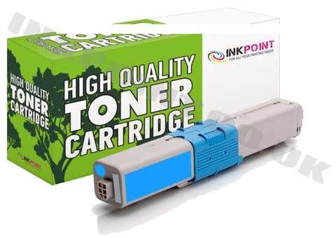 Compatible OKI C301 Cyan Toner Cartridge