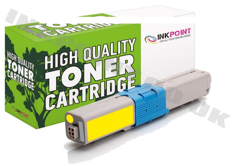 Compatible OKI C301 Yellow Toner Cartridge