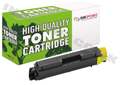 Compatible Kyocera TK580 Yellow Toner Cartridge