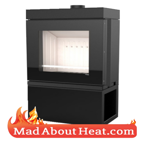 DCS 10kW wood stove dimensions specification Hunter Defro madaboutheat