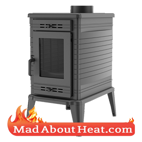 KSF 13kW wood burning stove room air space heater madaboutheat