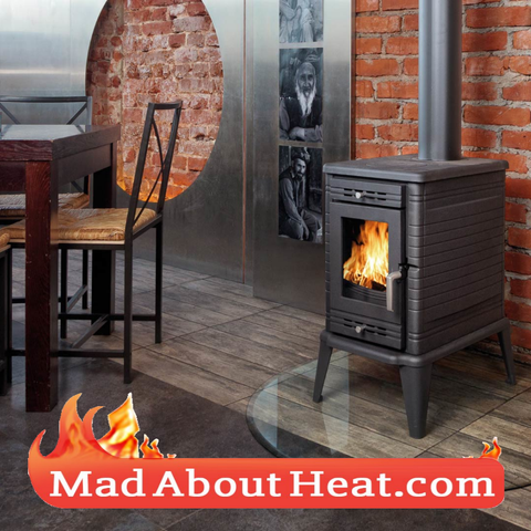 KSF free standing stove room heater log burner madaboutheat.com