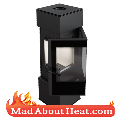 KKT 10kW modern corner stove quality stoves for sale madaboutheat.com