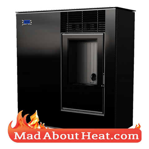 KKVP 8kW Wood Pellet Biomass Stove Automated Air Heater madaboutheat.com