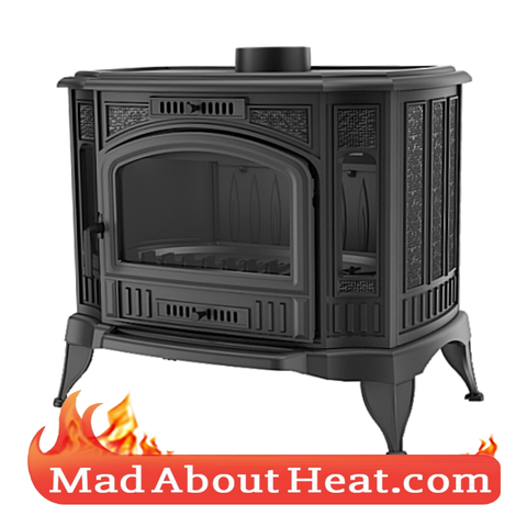 KSK 13kW Solid Fuel Classic Stove Wood Log Burner Cast Iron