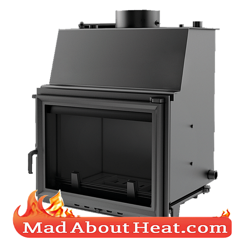 Standard Stove with back boiler water heater fire place insert central heating