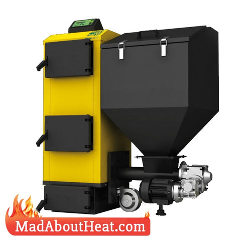 PBI 12kW Wood Pellet And Multi Fuel Boiler