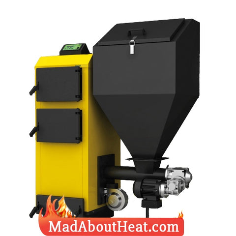 PBI 18kW Automated Wood Pellet & Multi Fuel Boiler