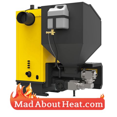 Big power wood pellet boilers for sale in UK free delivery to your house
