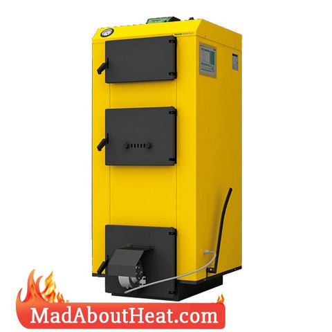 WBi 50 kW Wood Coal Burning Central Heating Boiler Fan Controller