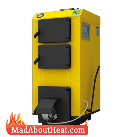 WBi 30kW Fan Assisted Multi Fuel Log Wood Boiler