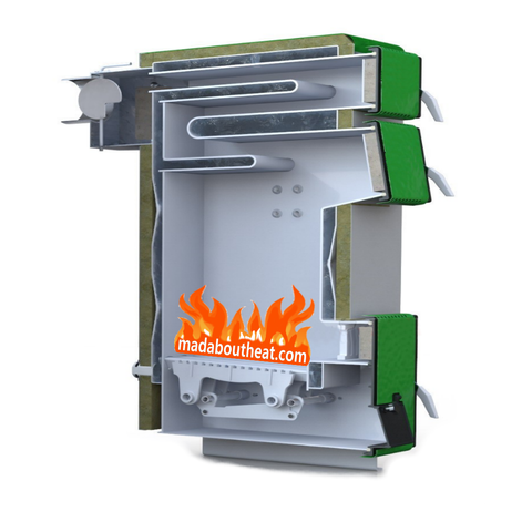 TWB Madaboutheat.com Wood coal manual boiler for hot water central heating
