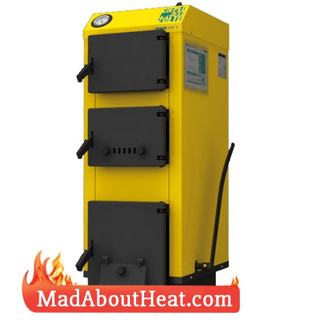 WB 16kW Manual Loaded Coal And Wood Central Heating Boiler