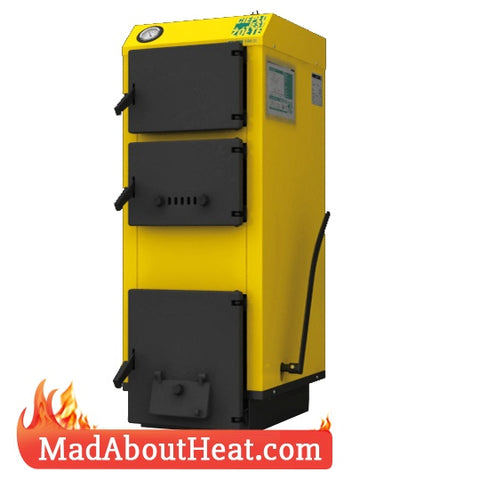 WB 5kW BTU wood logs waste rubbish burning boilers