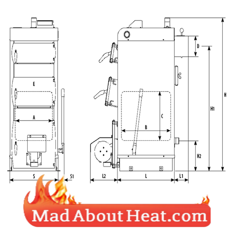 WBi boilers dimensions drawing schematic diagram madaboutheat