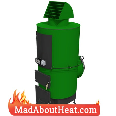 TABi 30kW Multi fuel Space Heater Hot Air Blower madaboutheat.com