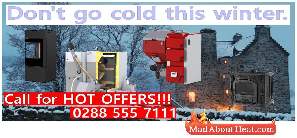 Multi fuel biomass central heating hot water boilers for sale UK France