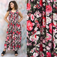 Load image into Gallery viewer, Viscose Maxi Dress UK One Size 14-24 EM4