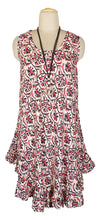 Load image into Gallery viewer, Beige Boho Printed Viscose Tunic Size 18- 30