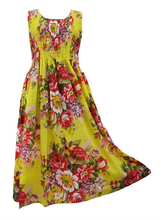 Load image into Gallery viewer, **15 Colors** 100% cotton sleeveless long dress UK size 14-24
