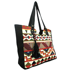 Canvas Kilim Handbag
