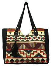 Load image into Gallery viewer, Canvas Kilim Handbag