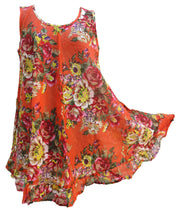Load image into Gallery viewer, Hippie Lagenlook Tunic Top Dress Boho Beach Kaftan Size 18 20 22 24 26 28 30