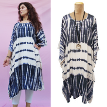 Load image into Gallery viewer, TIE DYE Kaftan Dress Size 14 -26