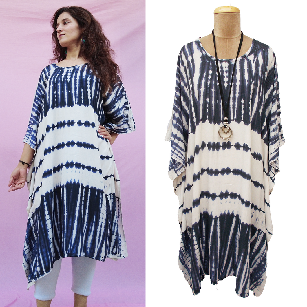 TIE DYE Kaftan Dress Size 14 -26