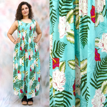 Load image into Gallery viewer, Viscose Maxi Dress UK One Size 14-24 EM18