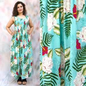 Viscose Maxi Dress UK One Size 14-24 EM18