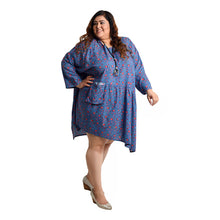 Load image into Gallery viewer, Aruba Oversized Tunic Size 22 to 32 H4