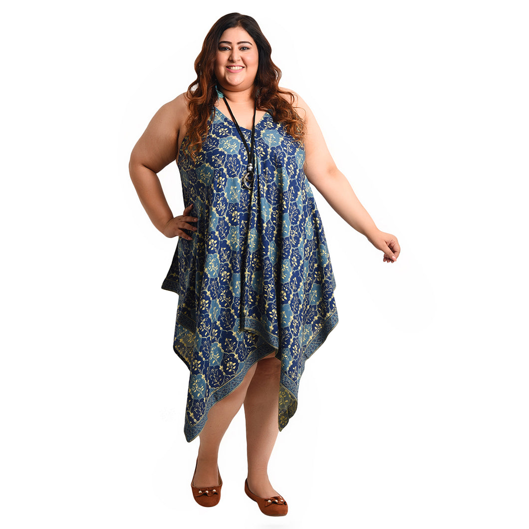 Viscose Butterfly Dress Size 18 - 28 B4