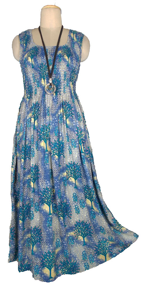 Viscose Maxi Dress UK One Size 14-24 E55