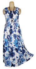 Load image into Gallery viewer, Viscose Maxi Dress UK One Size 14-24 E59
