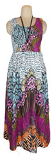 Load image into Gallery viewer, Viscose Maxi Dress UK One Size 14-24 E64