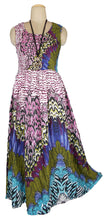 Load image into Gallery viewer, Viscose Maxi Dress UK One Size 14-24 E65