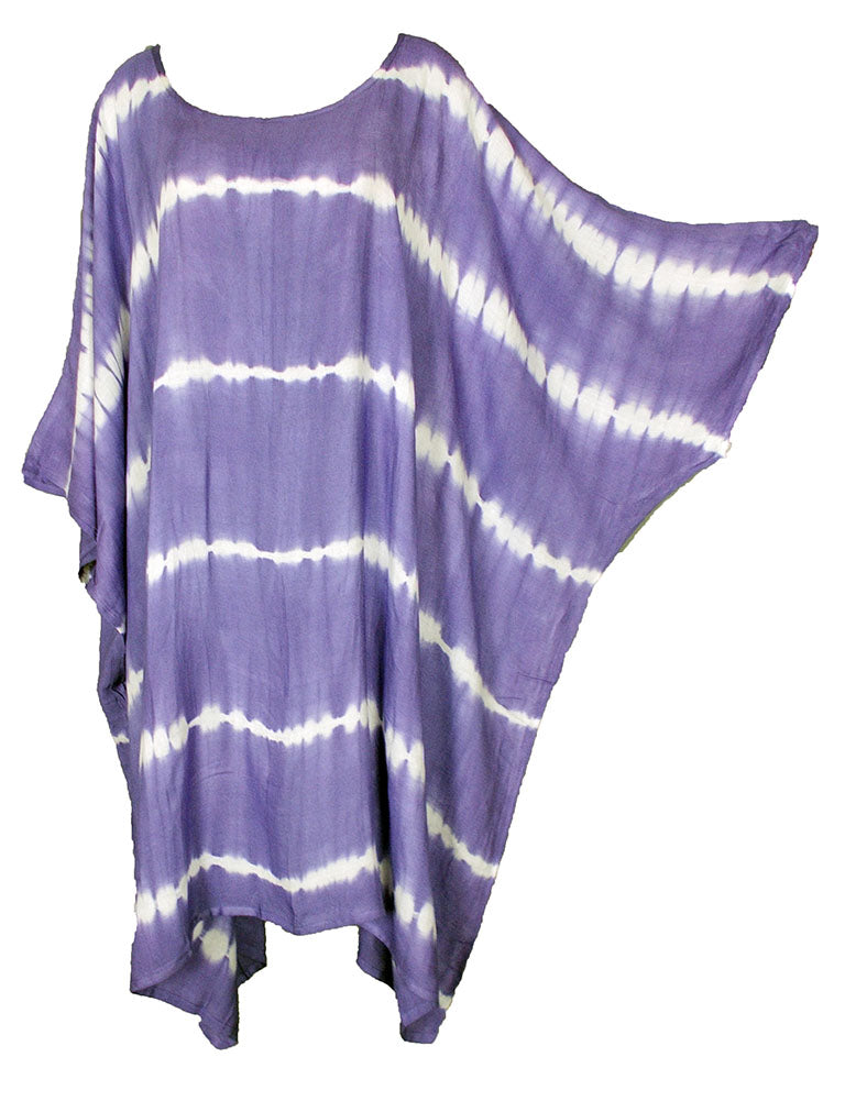 TIE DYE Short Sleeve Kaftan 24 to 34