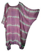 Load image into Gallery viewer, Baby Pink TIE DYE Short Sleeve Kaftan 24 to 34