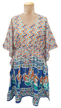 "Load image into Gallery viewer, 38"" Cotton Belted Kaftan One Size 12 to 24 D22"