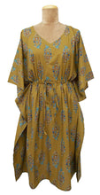 "Load image into Gallery viewer, 41"" Cotton Belted Kaftan One Size 12 to 24 D32"