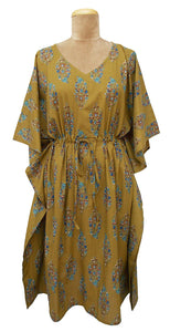 "41"" Cotton Belted Kaftan One Size 12 to 24 D32"