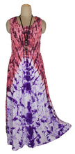 Load image into Gallery viewer, Viscose Tie Dye Maxi Dress UK  One Size 14-24 E12