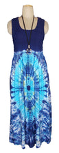 Load image into Gallery viewer, Viscose Tie Dye Maxi Dress UK  One Size 14-24 E1