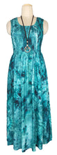 Load image into Gallery viewer, Viscose Maxi Dress UK One Size 14-24 E47