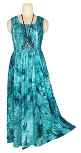 Viscose Maxi Dress UK One Size 14-24 E47