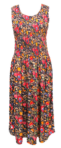 Viscose Maxi Dress UK One Size 14-24 EM5