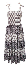 Load image into Gallery viewer, Cotton Patchwork Bandeau Flared Dress Size 14 - 28 EP5