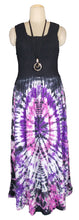 Load image into Gallery viewer, Viscose Tie Dye Maxi Dress UK  One Size 14-24 E5